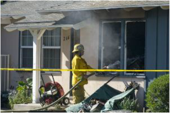 Orange County Hoarder Dies in House Fire
